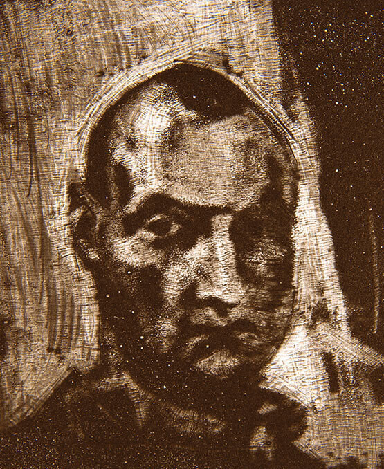Etching portraits